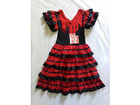 Spanish Flamenco dress - age 3 to 6 - NEW