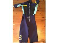 GUL RESPONSE 3/2 FL Shorty wetsuit