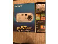 Sony DSC-P72 Cyber-shot Digital Camera