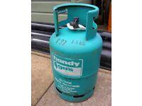 EMPTY HANDY FLO GAS EXCHANGE BOTTLE 7KG BUTANE COLLECTION PINXTON NG16 6HA