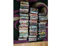137 DVD's various genres all working condition
