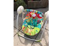 Bright Starts Up & Away Portable Swing