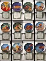 12 Lion King Plates