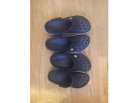 Used Crocs Unisex Adults' Crocband Clogs size 5 and size 7