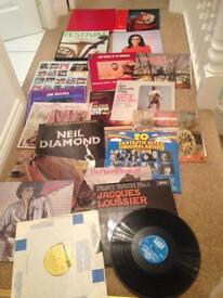 Selling collection of records