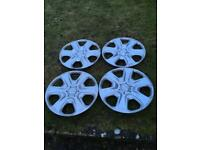 4x Ford Fiesta wheel trims