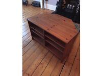 Wooden TV/Hifi unit
