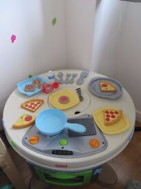 Fisher Price Servin' Surprises Kitchen and Table - £30
