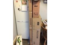 sliding shower door, mirror cabinet, ceramic basin all BNIB