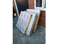 Kingspan 100mm insulation sheets