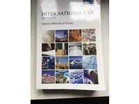 International law textbook - Evans (4th edition)