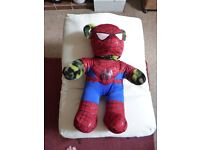 Build a Bear Spiderman + Army outfit VGC - Shipley