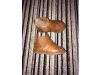 Infant size 4 boots