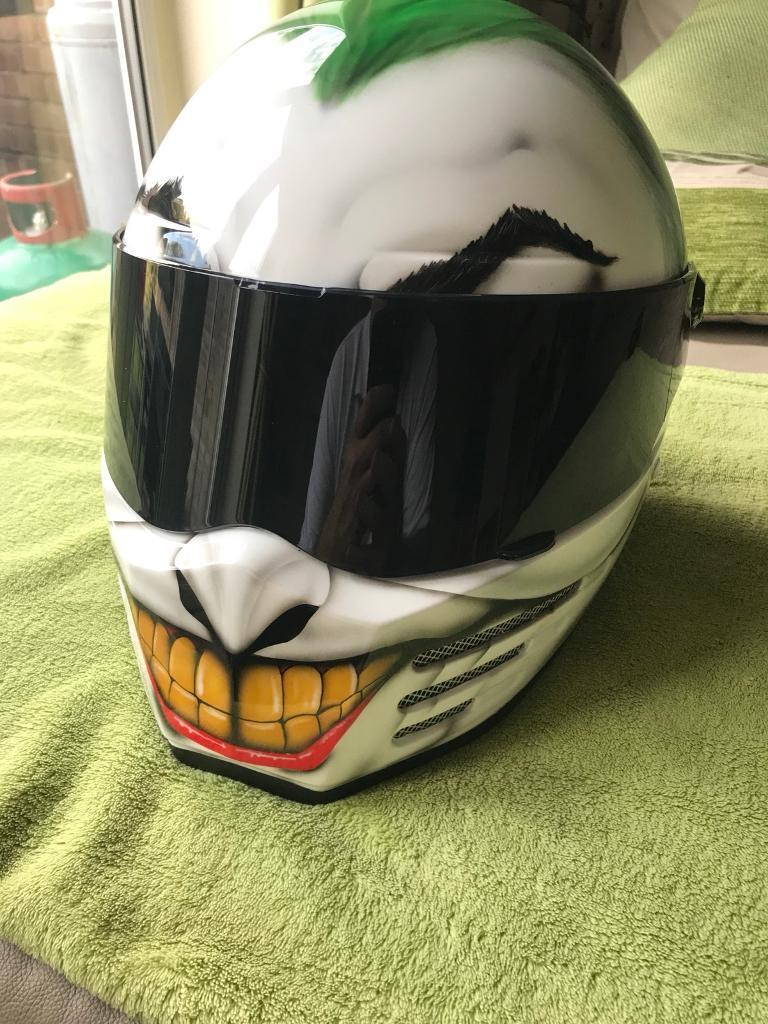 Bandit Helmet Joker style airbrush