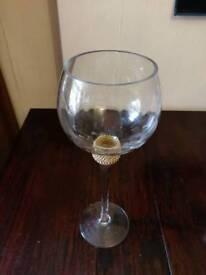 Oversize decorative glass