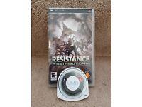 Resistance PSP game
