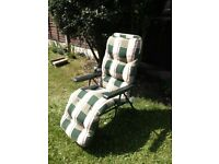 HOMEBASE garden chairs/sunbeds x 2