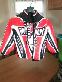 Wulfsport Kids motocross Ride Jacket and trousers