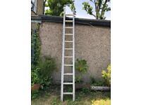 Aluminium Extension Ladder 11.4ft closed