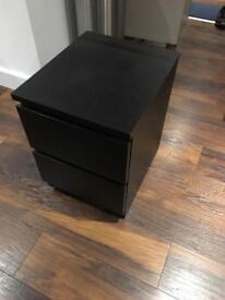 Ikea Malm bedside table 40x48x55cm SINGLE