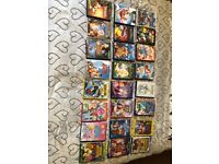 24 Mixed kids dvds mostly disney