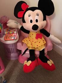 New Large Minnie Mouse doll , plush , teddy