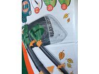Black & Decker garden leafblower in box with attachments