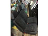 Mercedes Vito/ Viano / Dualiner 2003-2014 Front near/passenger side Double Fixed seats
