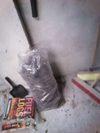 Bags of turf peat forsale fire etc