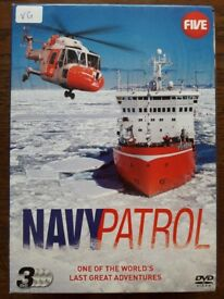 NAVY PATROL 3 Disc Box Set DVD - Very Good Condition