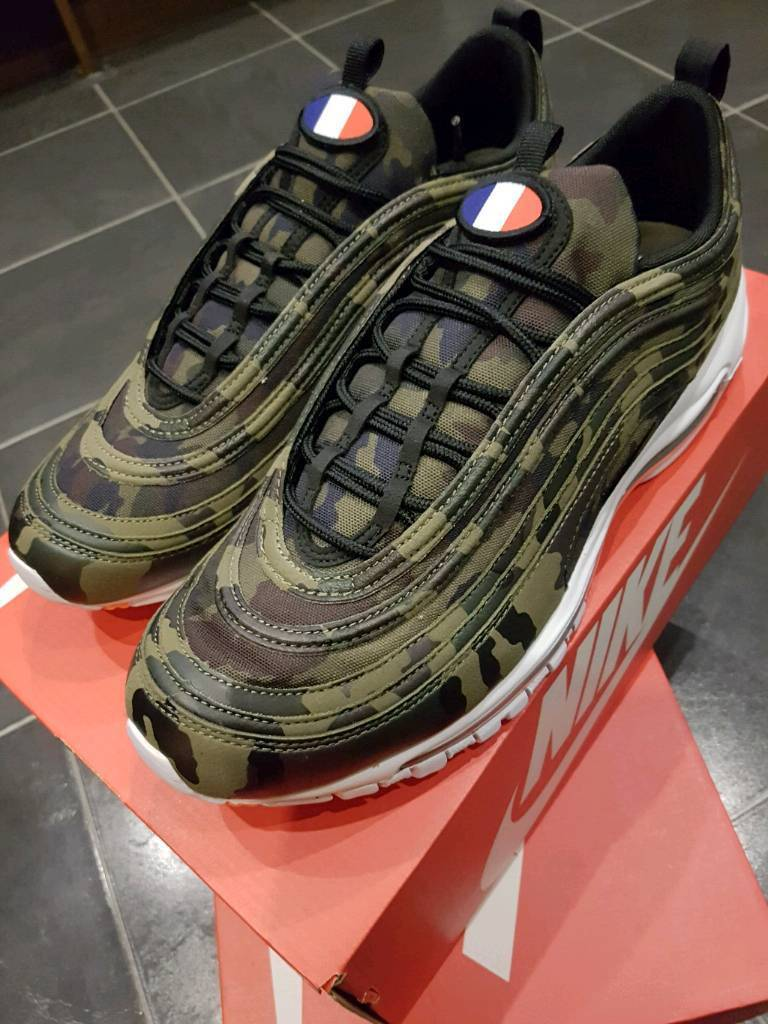 3ba0e05261 MENS NIKE AIR MAX 97 COUNTRY CAMO PACK FRANCE | in ...