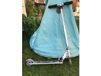 Silver Micro Scooter