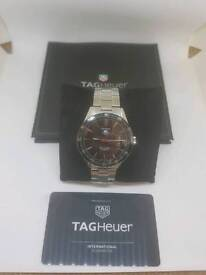 Tag heuer calibre 5 warranty and receipts.