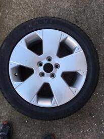Vectra Alloy Wheel