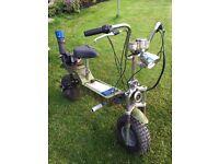 50cc Desert Storm Mini Fold Up Bike