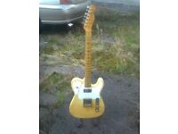 1978 custom made telecaster modified by Bill Nash