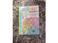 Colour Therapy adult colouring book. Brand New.