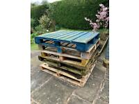Six wooden pallets (free for collection)