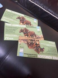 Free admission x3 gressenhall tickets