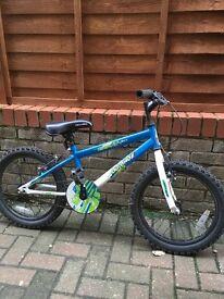 "Boys Apollo mountain bike 18"" wheel. Good condition"