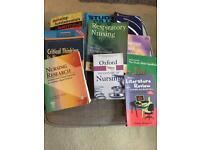 Selection of nursing textbooks