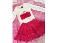 Le Chic Skirt & Top Set Age 5-6