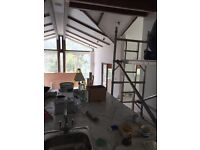 painting and decorating,plasters,plasterboard ,tiles,etc.