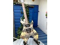 BC Rich Electric Guitar - Warlock -Body Art Collection