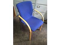 Quality stacking chairs - ideal for restaurant or meeting room