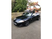 XK Convertible stunning combo black with ivory interior. Reluctantly selling due to baby arrival