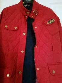 Red jacket size L