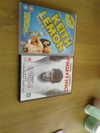 Keith lemon and fighting dvd