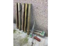 Fence posts & anchor stakes