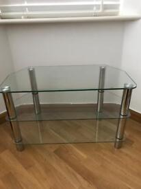 Glass TV Stand / Side Table